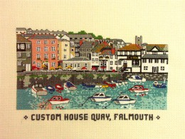 Falmouth: Custom House Quay
