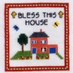 Bless This House - Cross Stitch Design